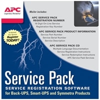 APC Extended Warranty Service Pack - assistência técnica - 1 ano