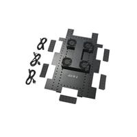 APC Roof Fan Tray - Bandeja de ventoinha de  bastidor (208/230 V) - preto - para NetShelter SX Enclosure with Sides
