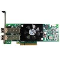 Adaptér HBA Dell Emulex LPe16002B, Duálny port 16GB pro technologii Fibre Channel, celú výšku, Zákaznická Sada