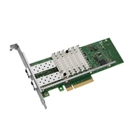 Intel X520 Duálny port 10 Gb DA/SFP+ serverový adaptér sítě Ethernet, karta síťového rozhraní PCIe.
