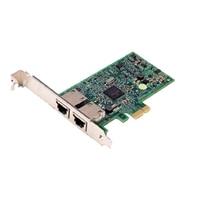 Dell Broadcom 5720 Duálny port 1 Gigabitový karta síťového rozhraní - Nízkoprofilový, Cuskit