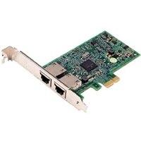 Dell Broadcom 5270 Duálny port 1Gb karta sítového rozhraní - Nízkoprofilový
