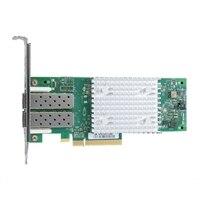 Dell QLogic 2742 med två portar 32GB Fibre Channel-värdbussadapter - låg profil