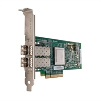 Dell QLogic 2562 Dubbel portar 8GB Fibre Channel-värdbussadapter, fullhöjd