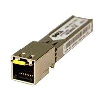 Dell nätverks SFP sändtagare 1000BASE-T – upp till 100 M, installeras av kundenl