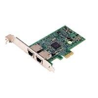 Dell Broadcom 5720 med dubbel port 1GB - nätverkskort - låg profil