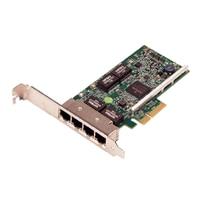 Broadcom 5719 QP 1Gb Nätverkskort, Lågprofil - Kit