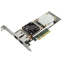 Dell Qlogic 57810 med Dubbel portar 10Gb Base-T låg profil nätverk adaptern