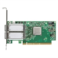 Dell Mellanox ConnectX-4 Duálny Port, 100 Gbe, QSFP28 nätverkskort fullhöjd, Customer Install