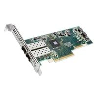 Dell med Dubbel portar SolarFlare 8522 10Gb SFP+ Adapter fullhöjd, installeras av kunden