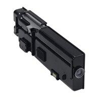 Dell 6000 sidors Svart tonerkassett med för Dell C2660dn/C2665dnf färgskrivare