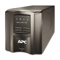 APC Smart-UPS 750 LCD - UPS - AC 230 V - 500-watt - 750 VA - RS-232, USB - 6 Utgång(ar) - svart