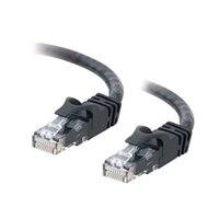 C2G Cat6 550MHz Snagless Patch Cable - Patch-kabel - RJ-45 (hane) - RJ-45 (hane) - 50 cm (19.69'') - CAT 6 - formpressad, mångtrådig, hakfri - svart