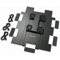 APC Roof Fan Tray - Fläktbricka för stativ - AC 208/230 V - svart - för NetShelter SX