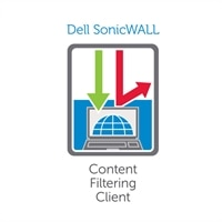 SonicWall Content Filtering Client - Abonnemangslicens (2 år) + Dynamic Support 24X7 - 250 användare