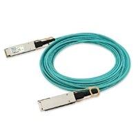 Dell 網絡線纜, QSFP28 , QSFP28 ,100GbE, 主動式光纜 (Optics included), 30 m