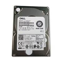 Dell 10,000 RPM SAS 12Gbps 2.5 吋 熱插拔硬碟, 3.5吋 混合式托架 硬碟 - 600 GB, CusKit