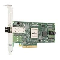 Dell Emulex LPE-12000 光纖通道主機匯流排配接卡, 8GB 1連接埠, 全高, Customer Kit
