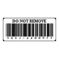 戴爾LTO4 Cartridge Barcode磁帶媒體標籤 - 標籤號碼121到180