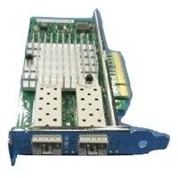 Intel X520 雙端口 10Gigabit SFP 伺服器配接卡乙太網路 PCIe低矮型
