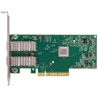 Dell 雙端口 Mellanox ConnectX-4, EDR, VPI QSFP28 網路 配接卡 - 全高