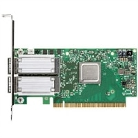 Dell Mellanox ConnectX-4 雙端口 100 Gbe QSFP28 低矮型 網路配接卡