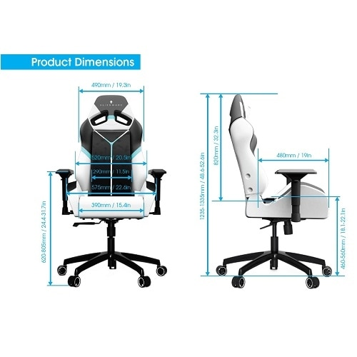 Terrific Alienware S5000 Gaming Chair Gaming Gaming Accessories Uwap Interior Chair Design Uwaporg