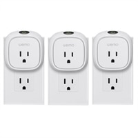 WeMo 3-Pack Insight Switch Wireless Smart Plug (White)