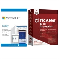 Deals on McAfee Total Protection and Microsoft Office 365 Home Digital