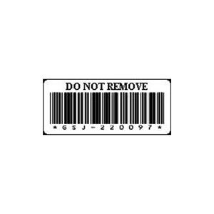 Dell LTO3 Cartridge Barcode Tape Media Labels - Label