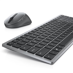 Dell Multi-Device Wireless Keyboard and Mouse Combo - KM7120W - French Canadian