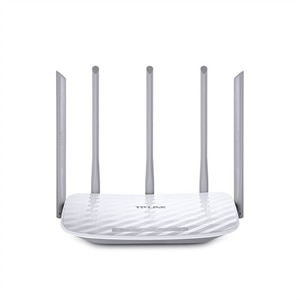 TP-LINK Archer C60 AC1350 - Wireless router - 4-port switch - 802.11a/b/g/n/ac - Dual Band