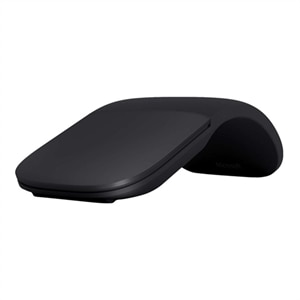 Microsoft Arc Mouse Optical  2 Buttons  Wireless  Bluetooth 4.0 - Black