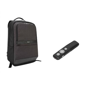 Targus Bundle: CitySmart Essential Backpack + P30 Wireless Presenter