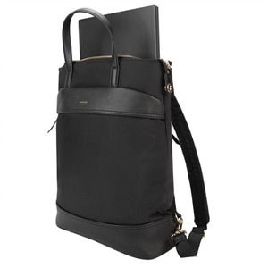 "Targus Newport Convertible 2-in-1 - Notebook carrying backpack/tote - 15"" - Black"