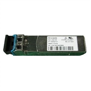 Single Port 8GB SFP Long Wave Optical Transceiver, Brocade (10 KM