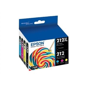 Epson 212XL - 4-pack - Hight Capacity (black) + Standard Capacity - black, yellow, cyan, magenta, pigmented black - o...