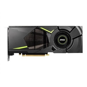 MSI RTX 2070 AERO 8G - Graphics card - GF RTX 2070 - 8 GB GDDR6 - PCIe 3.0 x16 - HDMI, 3 x DisplayPort, USB-C