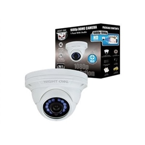 Night Owl 1 Pack Add–On 1080p HD Wired Security Dome Camera
