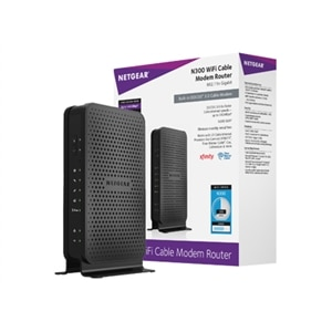 NETGEAR C3000 - Wireless router - cable mdm - 2-port switch
