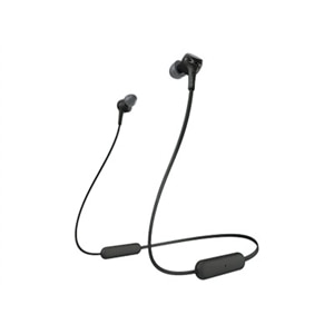 Sony WI-XB400 - Earphones with mic - in-ear - behind-the-neck mount - Bluetooth - wireless - black