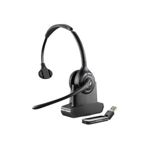 Poly Savi W410-M - 400 Series - headset - on-ear - DECT 6.0 - wireless