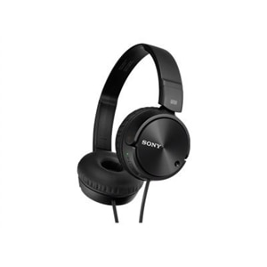 sony mdr-zx110nc - zx series - headphones - full size - wired - active  noise canceling - 3 5 mm jack