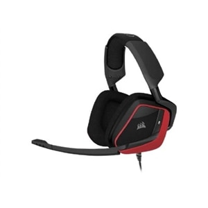 Corsair Gaming VOID PRO Surround - Headset - full size - wired - USB, 3.5 mm jack - red