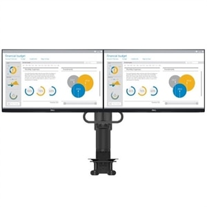 Dell Dual Monitor Bundle: P2419H without stand and MDA17