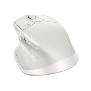 Logitech MX Master 2S - mouse - Bluetooth, 2.4 GHz - light gray