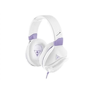 Turtle Beach Recon Spark - Headset - full size - wired - 3.5 mm jack - white, lavender