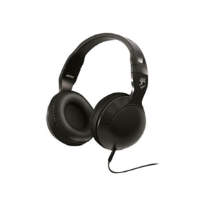 Skullcandy HESH 2 - Headphones with mic - full size - wired - 3.5 mm jack - black