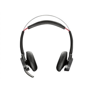 Poly Voyager Focus UC B825 - Headset - on-ear - Bluetooth - wireless - active noise canceling