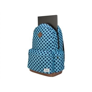 Targus Strata - Laptop carrying backpack - 15.6-inch - aqua, blue dots